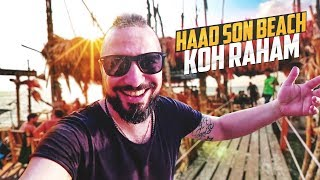 KohPhangan - Haad Son beach - Ресторан Koh Raham - Thailand 2018 / Базинян ШОУ
