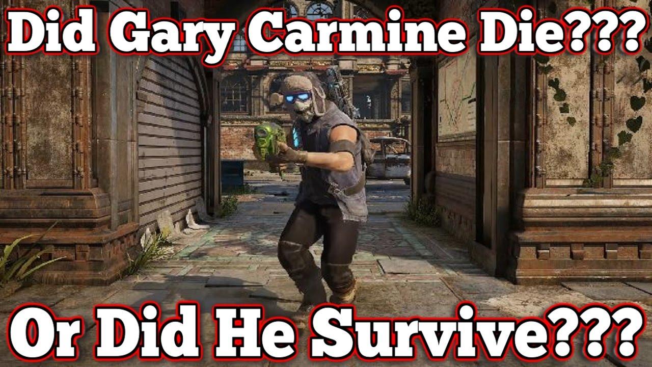 Gears Of War 4 Gary Carmines Death Was He Taken By