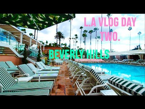 L.A VLOG! DAY TWO (Beverly Hills hotel, rodeo drive, chateau) With Marc Jacobs Beauty | Lucy Garland