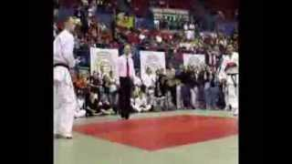 Lachlan Carr WC6 GKR Karate World Cup 2011 Male Open Birmingham Kanku Sho + Kumite