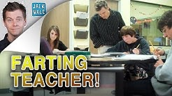 Farting Teacher Hidden Camera