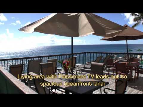 Wonderful Kauai Direct Oceanfront Luxury Vacation Rental at the Poipu Shores Resort