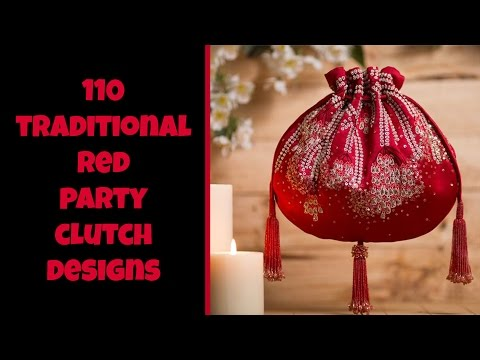 Traditional Red Party Bag Designs