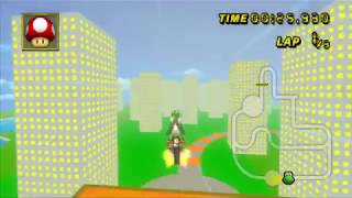 (MKWii CT) Cartoon-Stadt Alpha-2 -