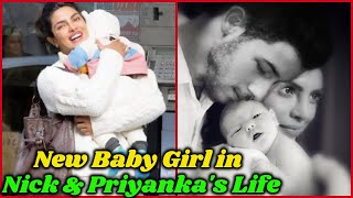 New Baby Girl in Nick and Priyanka Chopra' Life