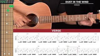 Dust In The Wind Guitar Cover Kansas 🎸|Tabs + Chords|