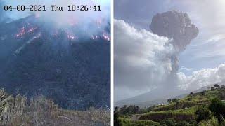 video: Watch: Saint Vincent volcano eruption blankets Caribbean island with ash