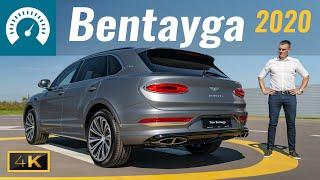 """Bentayga 2020 - """"Touareg для богатых""""? УВЕРЕНЫ?! Тест-драйв Bentley Bentayga V8"""