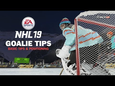 NHL 19 How to Play Goalie - Basic Tips & Positioning