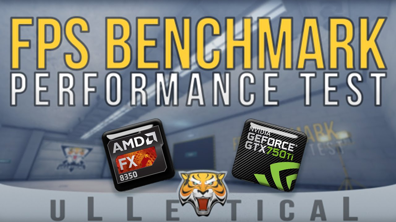 Cs Go Fps Benchmark Map Fx 8350 And Gtx 750ti 60fps 1080p Youtube