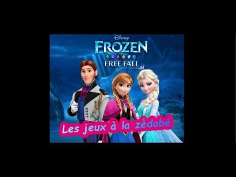 Les jeux à la zèdobé : La Reine des Neiges Free Fall : Bataille de boules de neiges par Pento