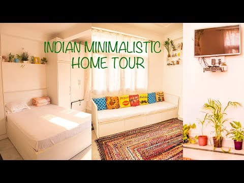 Minimalistic Indian Home Tour | Small House Organisation | Small Indian Home Tour 2018