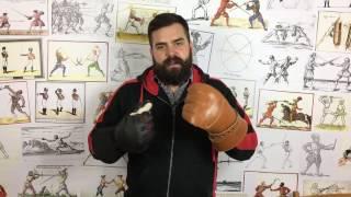 видео перчатки для фехтования