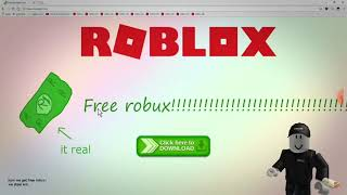 Here's what happens when you hack into Roblox :v