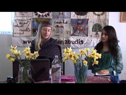 CADFA Palestinian women visit