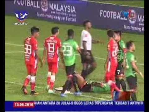 Keputusan Penuh Perlawanan Piala Malaysia Malam Tadi 13 Ogos 2016 Youtube