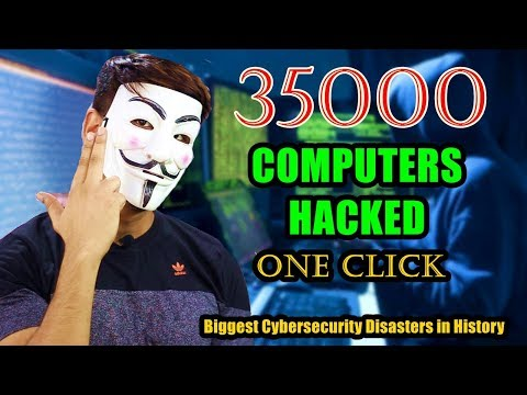 35000 Computers Hacked With One Click ? | Biggest Cybersecurity Disasters in History