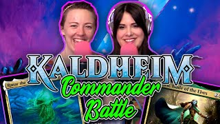 Kaldheim Commander BATTLE! Ranar the Ever-Watchful vs. Lathril, Blade of Elves | Magic the Gathering