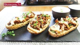 Chrupiące bagietki z serem i pieprznymi kurkami :: Skutecznie.Tv