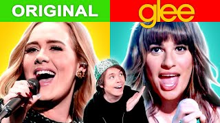 Popular Songs vs Their Glee Versions