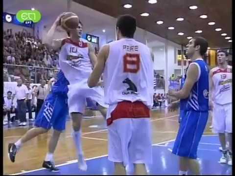 2009.U20.Eurobasket.Semifinal.Greece.vs.Spain