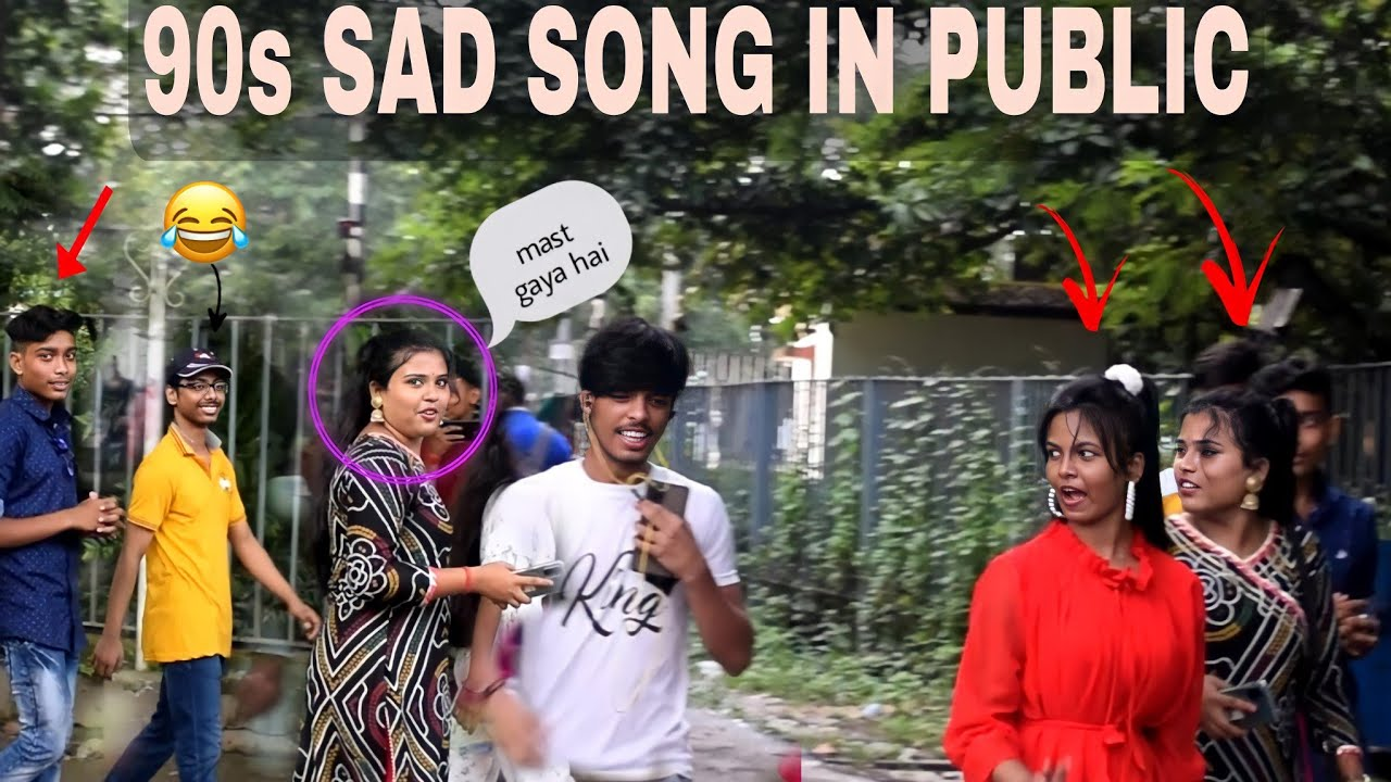90s Sad song in public   Epic reaction   Comedy Brothers