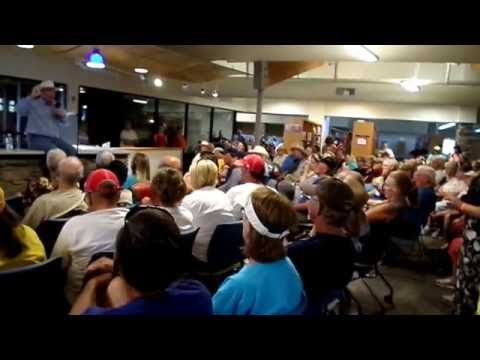 Longmire Days Q&A with Craig Johnson & Rob Taylor (video 1 of 3)