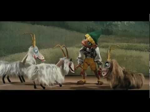 The Sound of Music - The Lonely Goatherd (with GOATS)