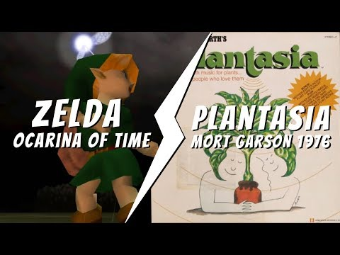 Zelda - Ocarina of Time VS Mort Garson - Plantasia