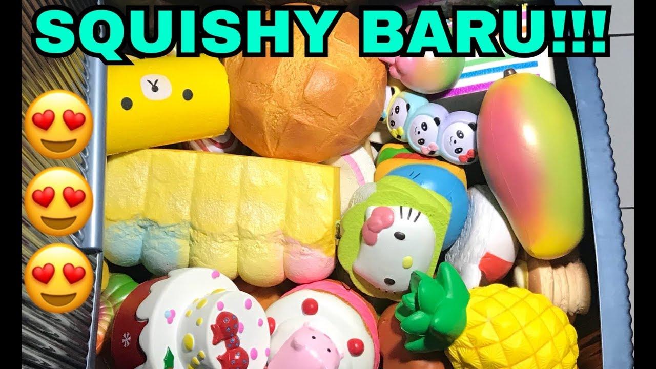 SQUISHY BARU!!! Review Ibloom Squishies! Cuma 2 sih HAHAHA - YouTube