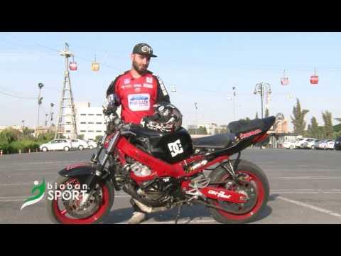 kurdish motor stunt kako roko erbil stunt riders biban intrviewماتور سوار كورد