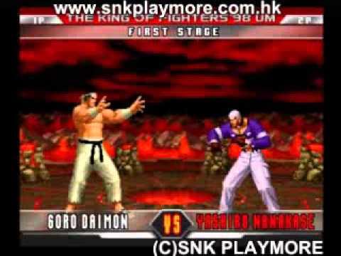98UM - SNK Playmore PS2 Osaka Event