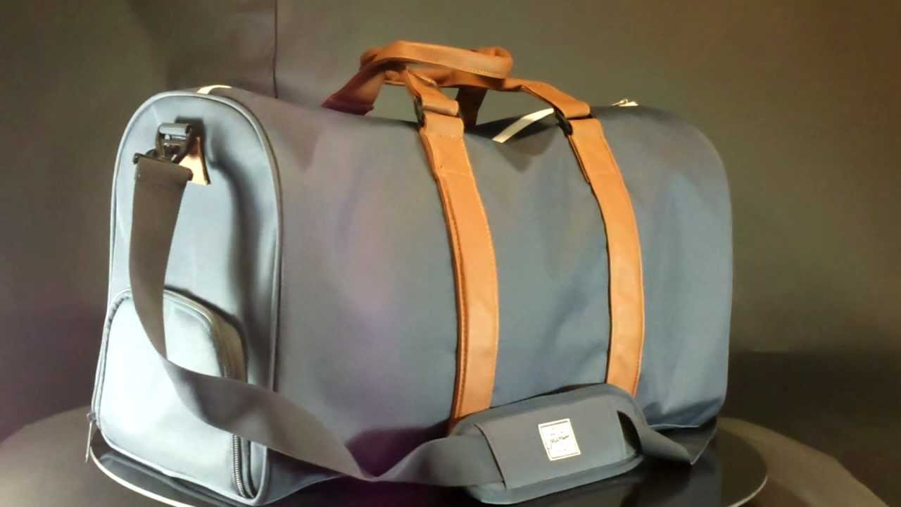 4ae961cf43 Herschel Novel Navy Tan - YouTube