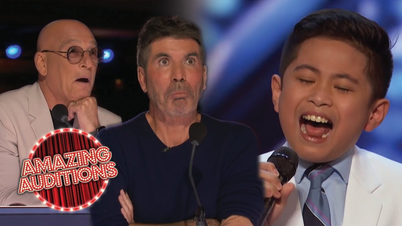 10 Year Old WOWS Judges With POWERFUL Singing Audition On AGT 2021   Amazing Auditions
