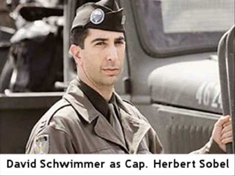 David Schwimmer  1 of 3: BAND OF BROTHERS CAST S 201011