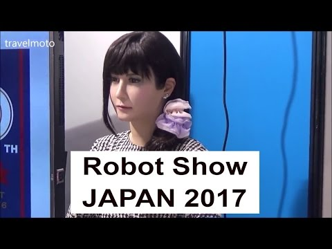 Robot Exhibition - JAPAN Show 2017 ロボット