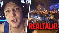 REALTALK zur Knossi Party!🤔 Von Fans belagert, zu wenig Security?😱 MontanaBlack Realtalk