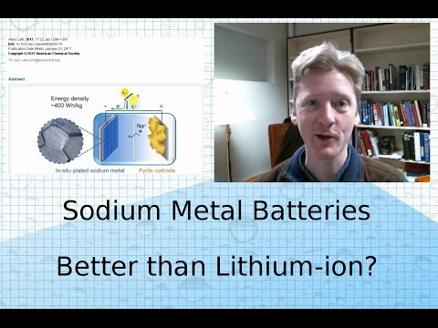 Sodium Metal Battery: Better than Sodium-Ion, Better than Lithium-Ion