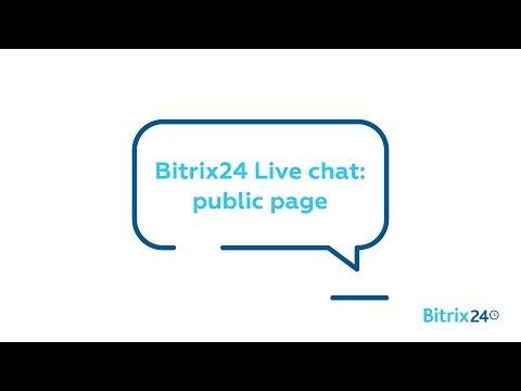 Free Live Chat - Public Page | Bitrix24 Contact Center