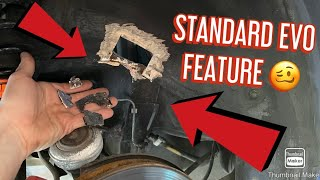 Lancer EVO 6 rust repairs