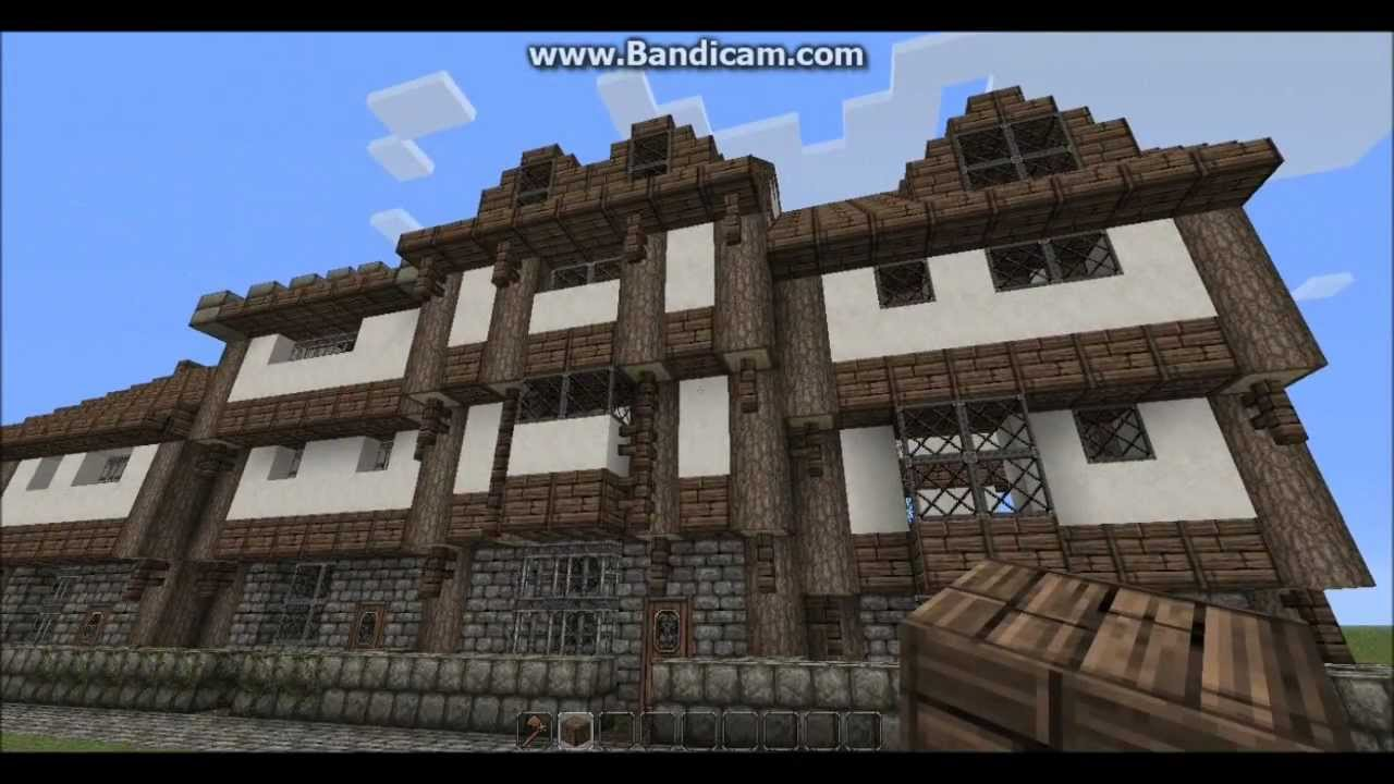 Towny 101, Your First House - Minecraft Modular Medieval Town Tutorial 02