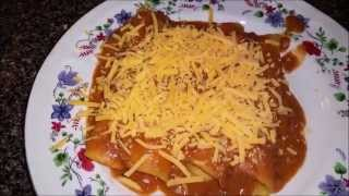 Ranch style (cheese) enchiladas
