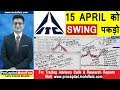 ITC SHARE NEWS | 5 April को Swing पकड़ो | ITC SHARE PRICE | POSITIONAL TRADING STRATEGY