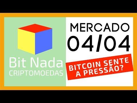 Mercado de Cripto! 04/04 BITCOIN SENTE A PRESSÃO / ASSOCIAÇÃO DE BLOCKCHAIN CONFIAVEIS? WTF!