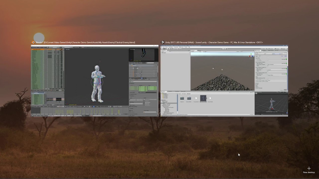 Setting Up Characters with Animations in Unity with the Animator Controller