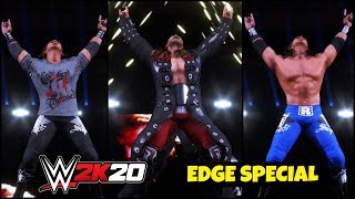 WWE 2K20 'EDGE' Special Gameplay ! FAIL GAME LIVE 2K20 Theme Gameplay |