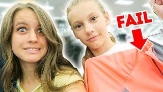 THRIFT STORE CHALLENGE (absolute fail)