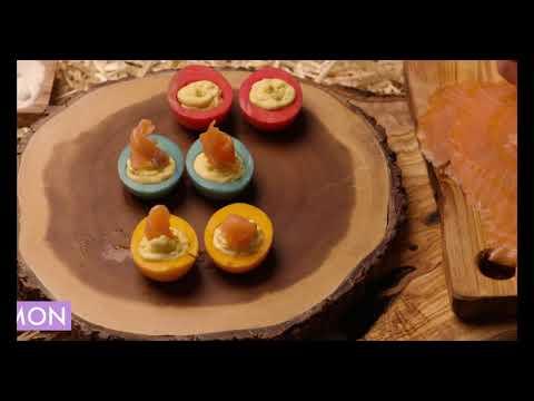 MOWI Easter Deviled Eggs