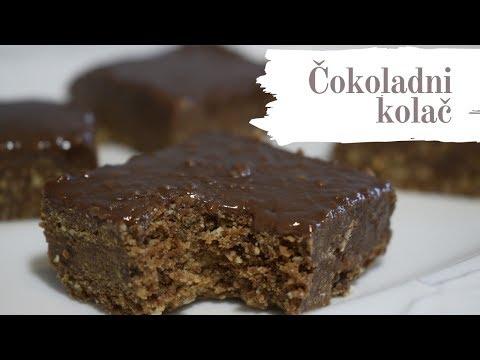 Čokoladno čudo od 4 sastojka bez pečenja (Najjednostavniji čokoladni kolač)