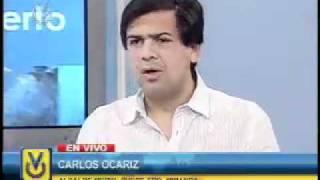 Entrevista a Carlos Ocariz - Alcalde del Municipio Sucre del Edo. Miranda